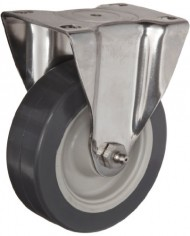 ER-Wagner-Plate-Caster-Rigid-Polyurethane-on-Polyolefin-Wheel-Stainless-Steel-Plate-Delrin-Bearing-275-lbs-Capacity-4-Wheel-Dia-1-14-Wheel-Width-5-116-Mount-Height-3-58-Plate-Length-2-58-Plate-Width-0