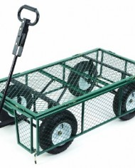Farm-Ranch-MH2121D-Heavy-Duty-Steel-Utility-Cart-with-Removable-Folding-Sides-and-13-Inch-Pneumatic-Tires-1000-Pound-Capacity-48-Inches-by-24-Inches-Green-Finish-0-0