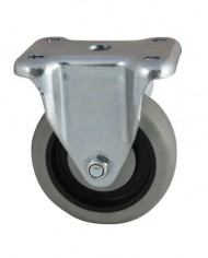 Faultless-Series-400-7700-Caster-5-x-1-14-Thermoplastic-Rubber-on-Plastic-Wheel-Rigid-7790-5TG-0