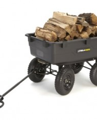 Gorilla-Carts-GOR866D-Heavy-Duty-Garden-Poly-Dump-Cart-with-2-In-1-Convertible-Handle-1200-Pound-Capacity-40-Inch-by-25-Inch-Bed-Black-Finish-0-2