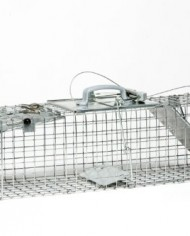 Havahart-1062-Easy-Set-Two-Door-Cage-Trap-for-Rabbits-Skunks-and-Squirrels-0-1
