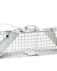 Havahart-1062-Easy-Set-Two-Door-Cage-Trap-for-Rabbits-Skunks-and-Squirrels-0
