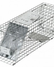 Havahart-1088-Collapsible-One-Door-Cage-Trap-for-Rabbit-Skunk-Mink-and-Large-Squirrels-0