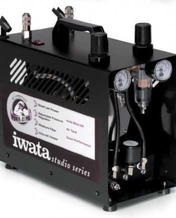 Iwata-Medea-Studio-Series-Power-Jet-Pro-Double-Piston-Air-Compressor-0
