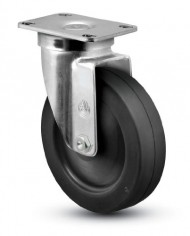 Jarvis-30-Series-2-12-Diameter-Cushion-Rubber-Wheel-Swivel-Plate-Caster-with-Delrin-Bearing-3-58-Length-X-2-38-Width-Plate-140-lbs-Capacity-0