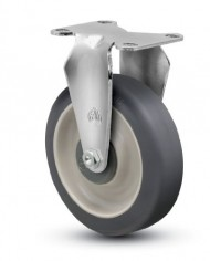 Jarvis-30-Series-3-12-Diameter-PolyLoc-Gray-Wheel-Rigid-Plate-Caster-with-Ball-Bearing-3-58-Length-X-2-38-Width-Plate-250-lbs-Capacity-0