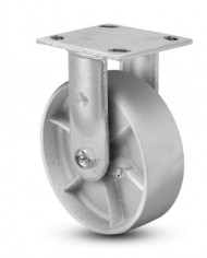 Jarvis-81-Series-6-Diameter-Cast-Iron-Wheel-Rigid-Plate-Caster-with-Roller-Bearing-4-12-Length-X-4-Width-Plate-1200-lbs-Capacity-0