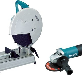 Makita-2414NBX2-14-Inch-15-AMP-Abrasive-Cutoff-Saw-with-4-12-Angle-Grinder-0