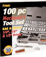 Mechanics-Products-W1198-100-Piece-Socket-and-Bit-Set-0-0