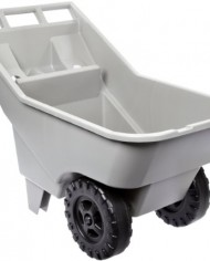 Rubbermaid-Commercial-3707-12-Roughneck-HDPE-Dump-Truck-Platinum-200-lb-Load-Capacity-28-Height-42-12-Length-x-21-Width-0