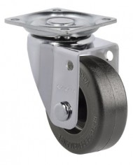 Schioppa-GLAP-210-NT-2-50-mm-Swivel-Non-Brake-Caster-Nylon-Wheel-70-lbs-Plate-1-2132-x-1-2132-BH-1-14-x-1-14-0