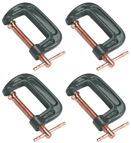 Grizzly-G8091-C-Clamp-4-Piece-Set-0