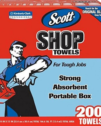 Kimberly-Clark-75190-Scott-Shop-Towels-10-x-12-Blue-1-Box-of-200-0