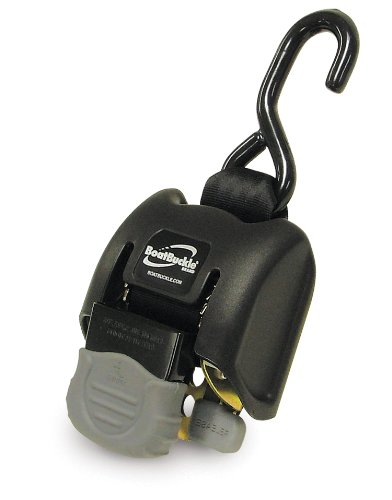BoatBuckle-G2-Retractable-Transom-Tie-Down-2-x-43-Inch-Black-0