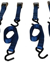 Highland-92106-6-Blue-Cambuckle-Tie-Down-with-Hooks-4-piece-0