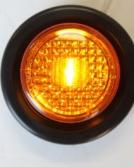 2-Amber-2-Red-LED-2-Round-ClearanceSide-Marker-Light-Kits-with-Light-and-Grommet-Truck-Trailer-RV-Pack-of-4-0-0
