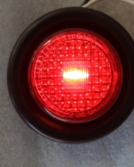 2-Amber-2-Red-LED-2-Round-ClearanceSide-Marker-Light-Kits-with-Light-and-Grommet-Truck-Trailer-RV-Pack-of-4-0-1