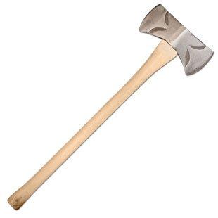 Council-Tool-35-Lbs-Double-Bit-Classic-Michigan-Axe-With-36-Straight-Hickory-Handle-0