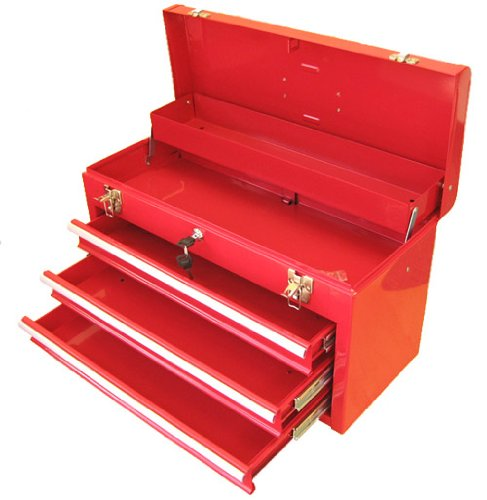 Excel-TB133-Red-20-Inch-Portable-Steel-Tool-Box-Red-0