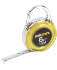 Maxcraft-60404-6-Feet-Mini-Clip-On-Tape-Measure-0