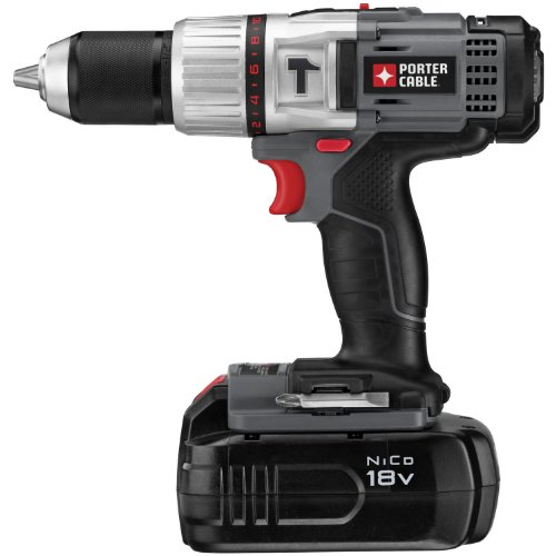 PORTER-CABLE-PC180CHDK-2-12-Inch-18-Volt-NiCD-Compact-Hammer-Drill-Kit-0
