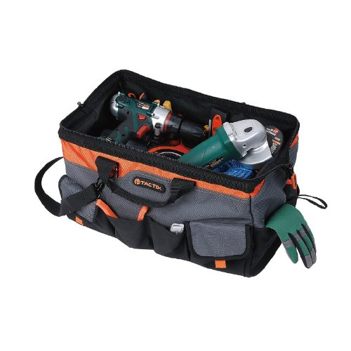 Tactix-323141-Gate-Mouth-Tool-Bag-20-Inch-BlackOrange-0