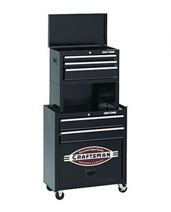 Craftsman-5-Drawer-Homeowner-Tool-Center-Chest-Cabinet-with-Riser-0
