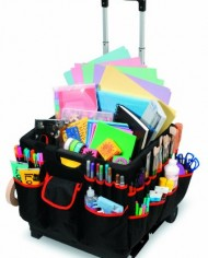 Darice-1210-27-Rolling-Craft-Cart-with-Nylon-Liner-and-Telescoping-Aluminum-Handle-0-0