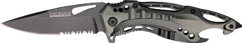 Tac-Force-TF-705GY-Tactical-Assisted-Opening-Folding-Knife-45-Inch-Closed-0