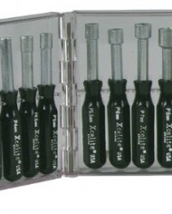 Xcelite-PS121MM-11-Piece-Compact-Convertible-Nutdriver-Set-with-Clear-Plastic-Case-Black-Handles-0-0