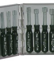 Xcelite-PS121MM-11-Piece-Compact-Convertible-Nutdriver-Set-with-Clear-Plastic-Case-Black-Handles-0