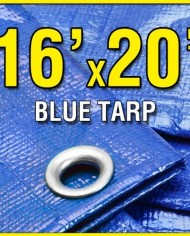 16-X-20-Blue-Multi-Purpose-6-mil-Waterproof-Poly-Tarp-Shade-Cover-16×20-Tarpaulin-by-Grizzly-Tarps-0