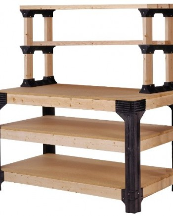 2x4basics-90164-Workbench-and-Shelving-Storage-System-0