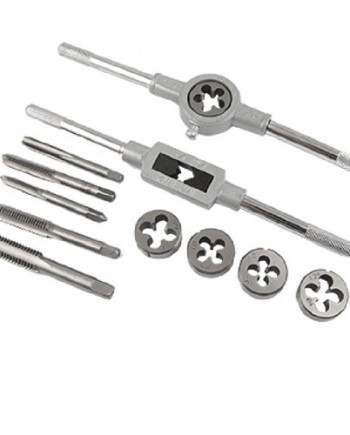 12-Pcs-Metal-Adjustable-Tap-Wrench-Screw-Die-Stock-Set-0