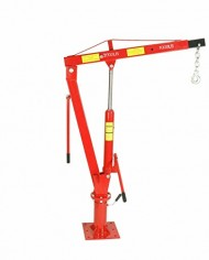 2000-LBS-1-Ton-Swivel-Base-Hydraulic-Engine-Hoist-Foldable-Davit-Crane-fits-Pickup-Truck-with-Removable-Base-0-0