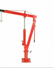 2000-LBS-1-Ton-Swivel-Base-Hydraulic-Engine-Hoist-Foldable-Davit-Crane-fits-Pickup-Truck-with-Removable-Base-0-1