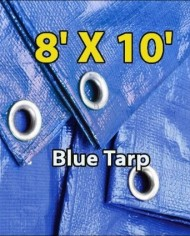 8-X-10-Blue-Multi-purpose-Waterproof-Poly-Tarp-Cover-Tent-Shelter-Camping-Tarpaulin-By-Prime-Tarps-0