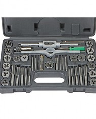Carbon-Steel-SAE-Tap-and-Die-Set-40-Pc-from-TNM-0