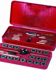 Century-Drill-Tool-98900-Fractional-Tap-and-Die-Set-40-Piece-0-0