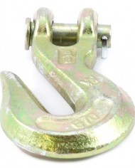 Forney-61047-Clevis-Grab-Hook-Grade-70-Yellow-Zinc-38-Inch-0-0