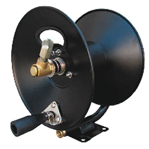 General-Pump-D30002-38-x-100-Steel-Hose-Reel-with-Swivel-Arm-and-Mounting-Bracket-3500-PSI-0
