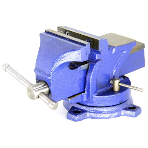 HFS-TM-Brand-5-Heavyduty-Bench-Vise-Anvil-Forged360-Swivel-Locking-Base-Desktop-Clamp-16LBS-HFS-Blue-Design-0