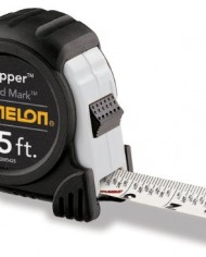 Komelon-SM5425-Speed-Mark-Gripper-Acrylic-Coated-Steel-Blade-Tape-Measure-25-Inch-by-1-Inch-White-Blade-0