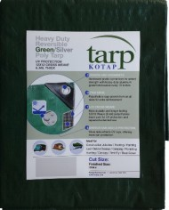 Kotap-15-ft-x-25-ft-Heavy-Duty-12-by-12-Cross-Weave-8-mil-Reversible-GreenSilver-Poly-Tarp-Item-TGS-1525-0