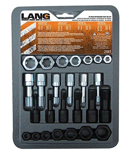 Lang-Tools-2581-26-Piece-Thread-Restorer-Tap-and-Die-Set-0