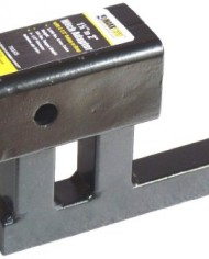 MaxxHaul-70355-1-14-to-2-Hitch-Adapter-with-4-Rise-and-3-38-Drop-0