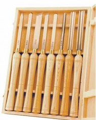 PSI-Woodworking-LCHSS8-HSS-Wood-Lathe-Chisel-Set-8-Piece-0