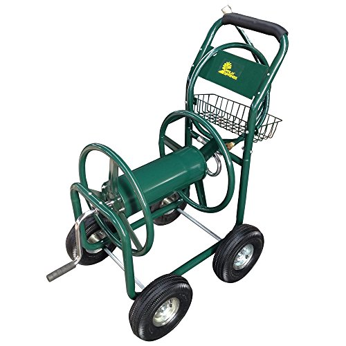 Palm-Springs-Garden-Heavy-Duty-Water-Hose-Reel-Cart-Hold-up-to-230FT-x-58-0