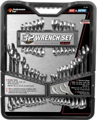 Performance-Tool-W1099-32-Piece-SAE-and-Metric-Wrench-Set-0