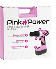 Pink-Power-PP182-18V-Cordless-Drill-Kit-for-Women-with-2-Batteries-Case-Charger-and-Bit-Set-0-6